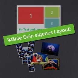 Wählt selbst das Design für die Fotoausdrucke der Fotobox Düren - passend zu Eurem Event.
